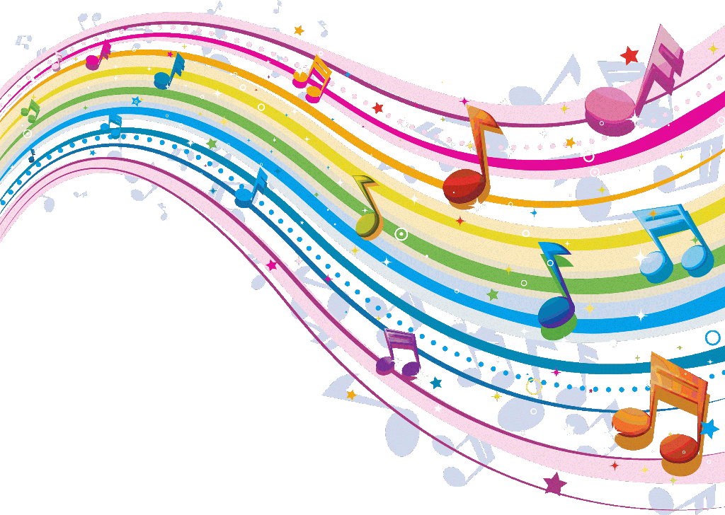 Music note clipart rainbow. Musicnotes musiclover notes pink