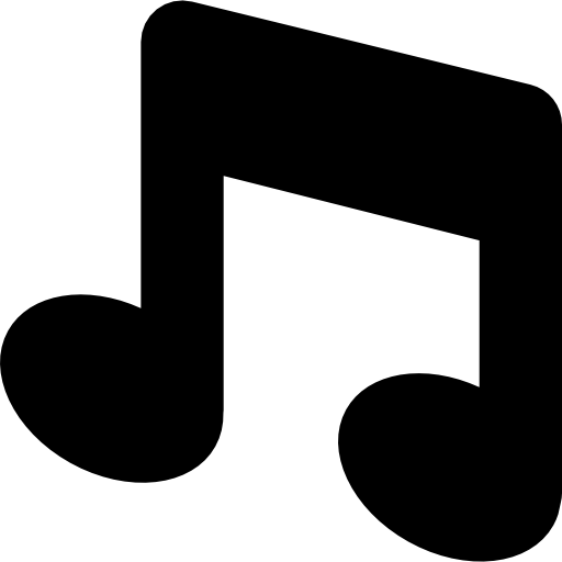 Emoticon musical notes png. Music note free icons