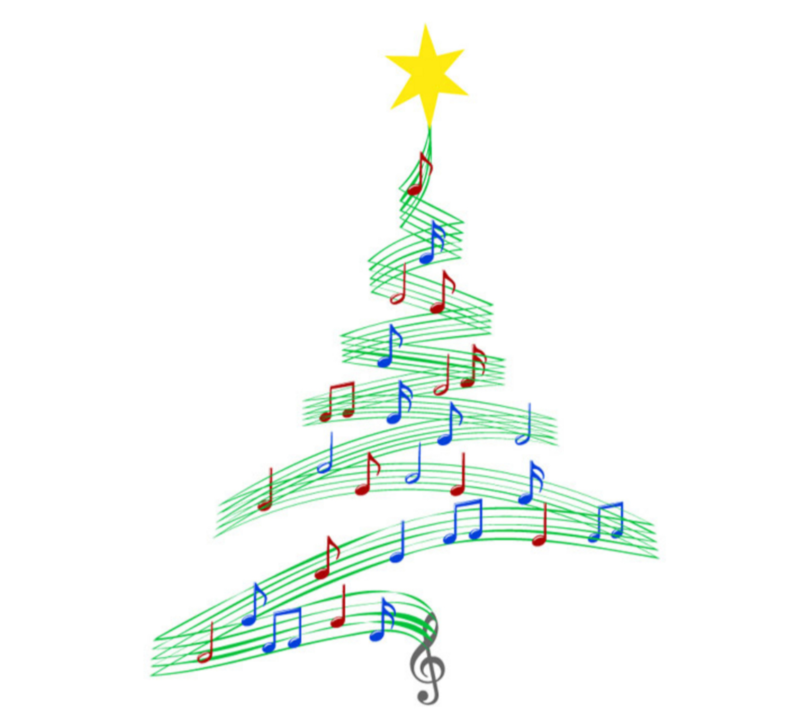 Music Note Christmas Transparent & PNG
