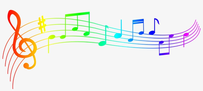 Music note png colorful. Notes transparent free