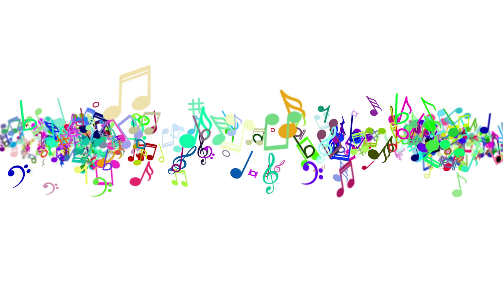 Music note png colorful. Notes images in collection