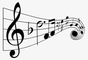 Music note png jazz. Drawn notes black and
