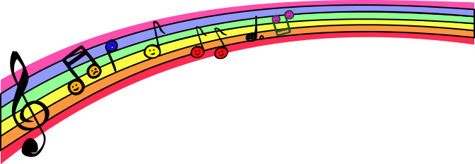 Music note png rainbow. Notes notation musicnotationmusicnotesmusicrainbownotespng html