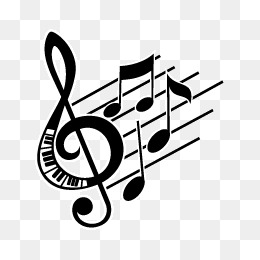 Music note png silhouette. Notes images vectors and