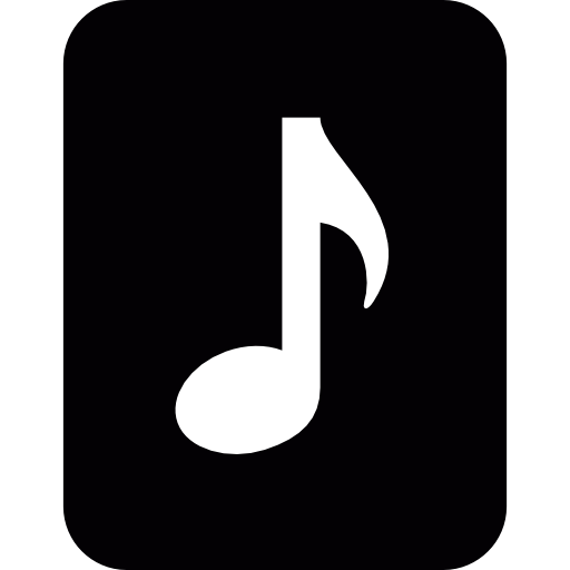 music note white png #88087400