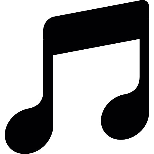 Music note clipart vertical. Musical symbol icons free