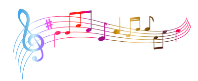 Musical notes transparent png. Download free image and