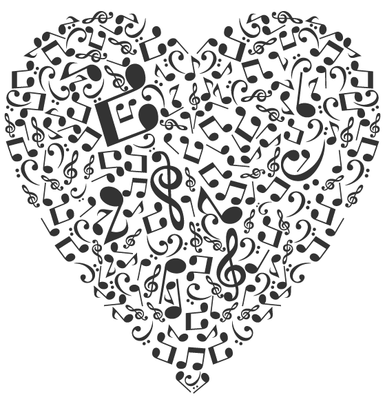 Music notes heart png. A guest blog post