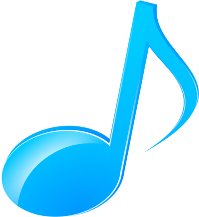 Music note clipart blue. Download musical notes free