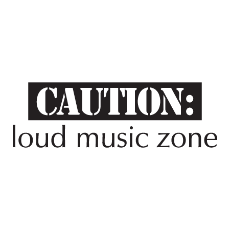 Music quotes png. Loud zone wall decal