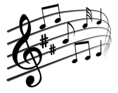 Music staff png. Download musical notes free