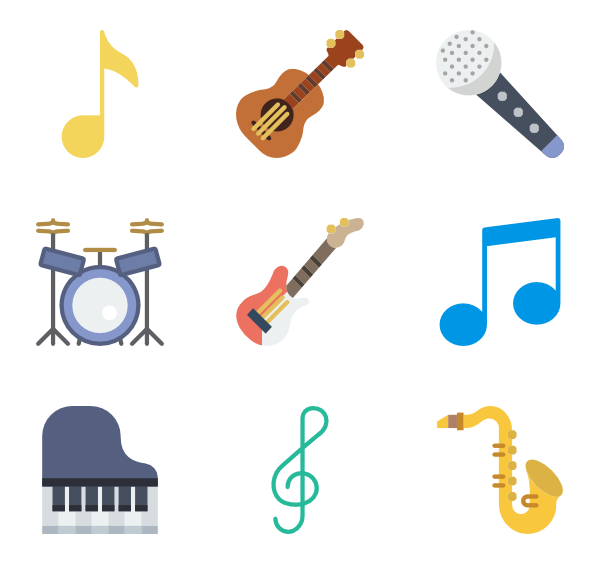 Music vector png. Musical instrument icon