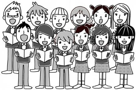 Choir clipart to do. Show music at the
