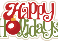 Happy holidays clipart summer. Clip art free collection