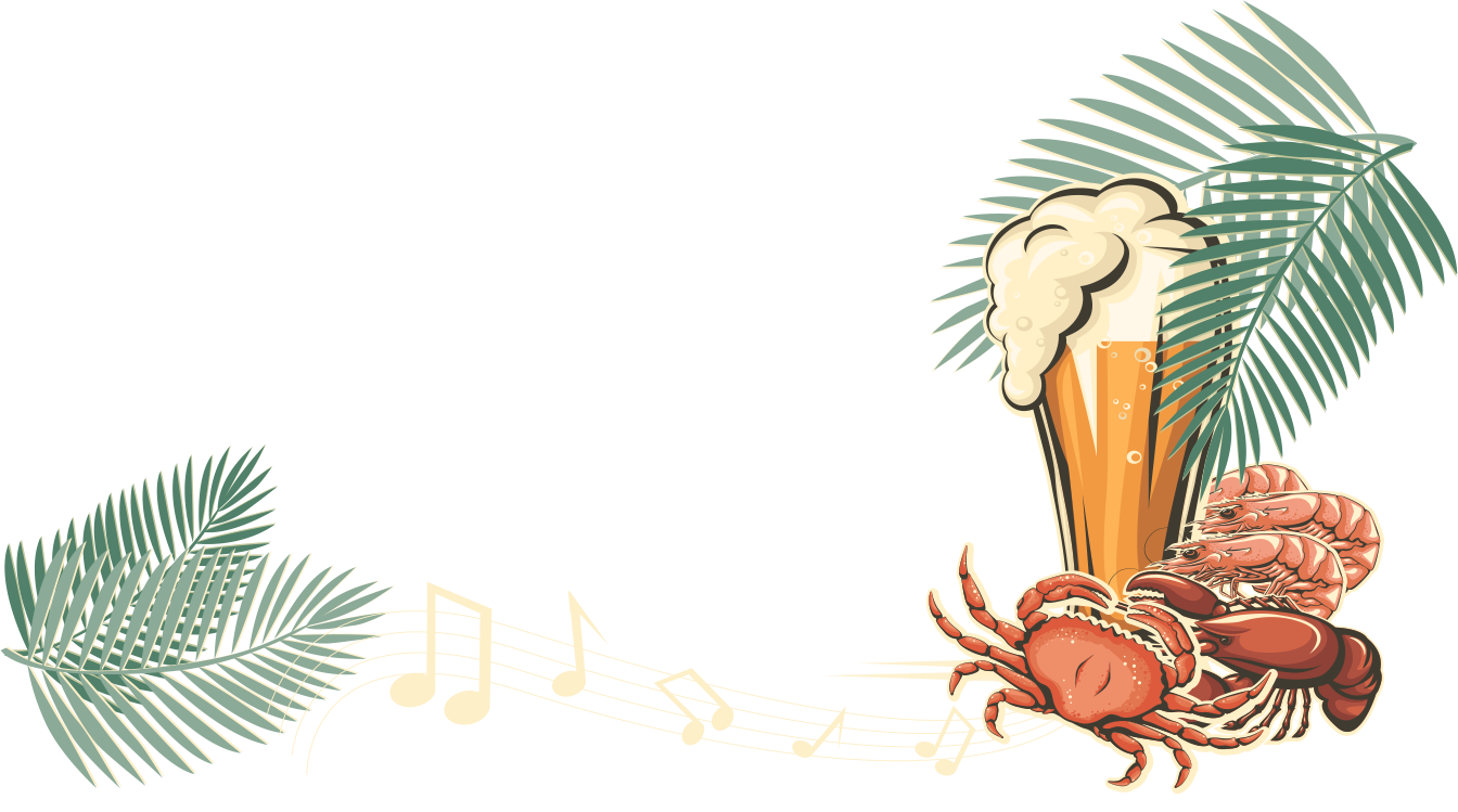 Musical clipart music festival. Seafood and festivals