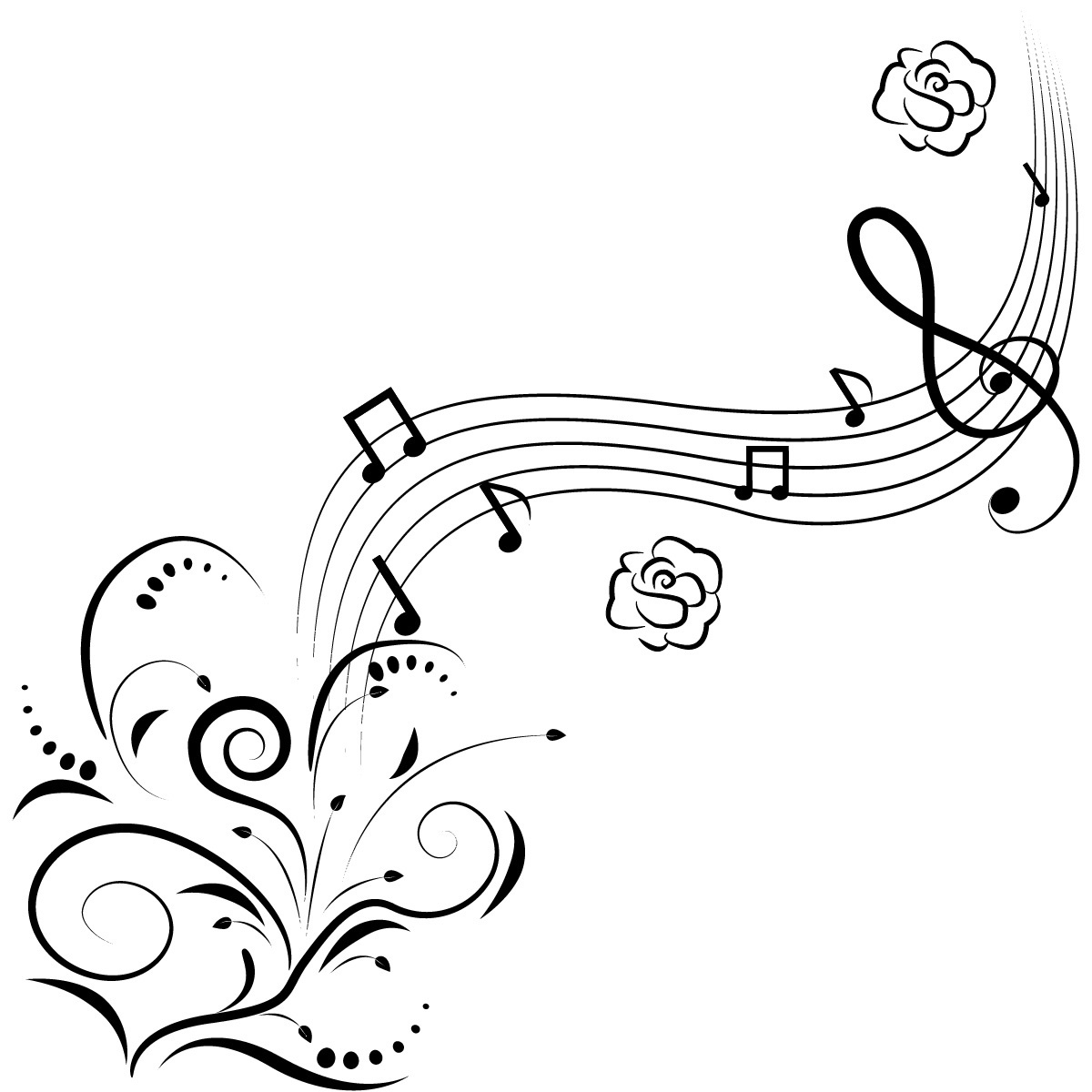 Musical clipart music room. Sign drawing at getdrawings