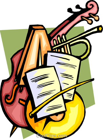 Musical clipart musica. Classical music group with