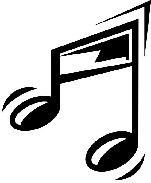music note clipart cartoon