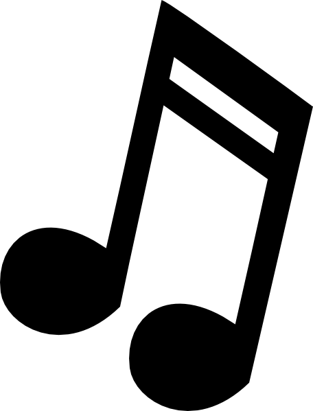 Music note clipart cartoon. Free download clip art