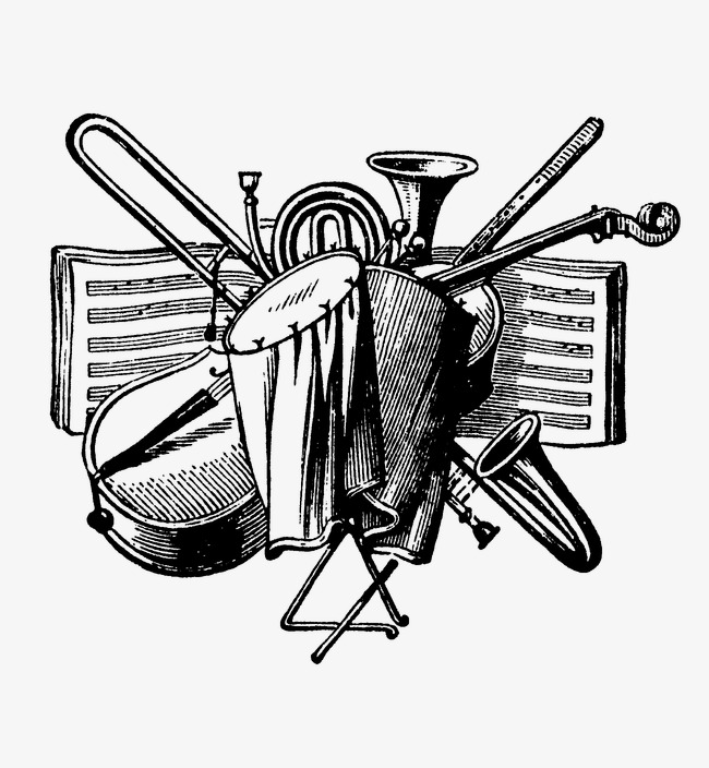 Musical clipart western music. Instruments woodwind brass png