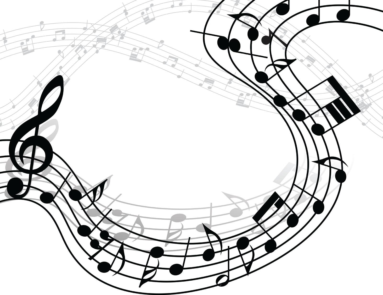 Musical notes background png. Free images music fresh