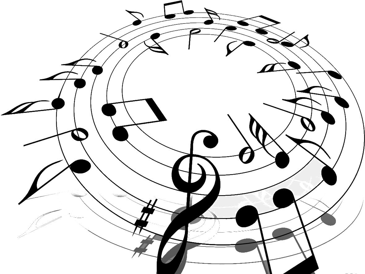 Musical notes background png. Music images free download