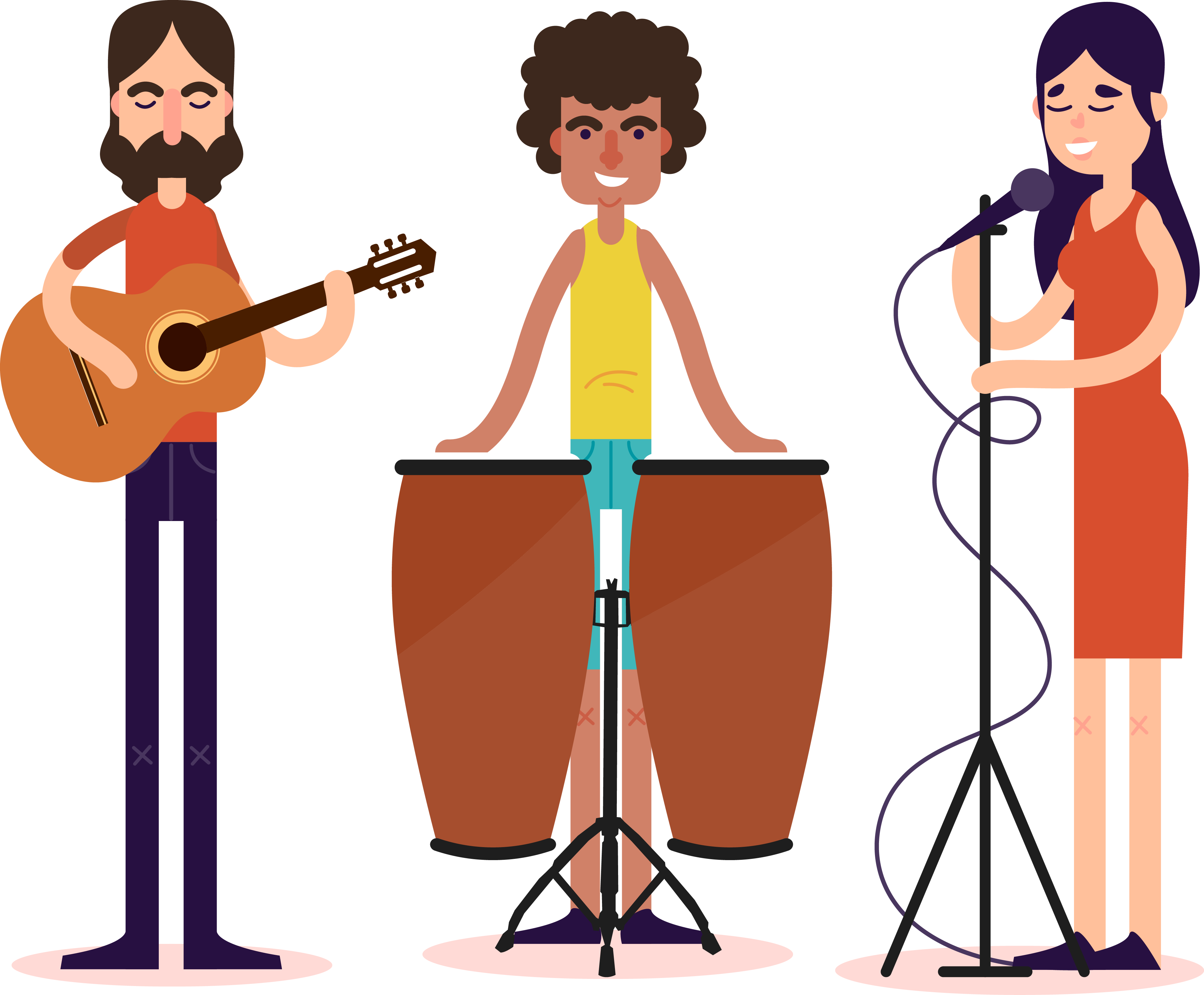 Musician clipart band member. Cliparts for free