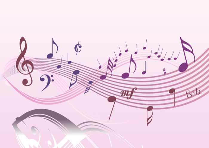Musician clipart musical entertainment. Free music note pink