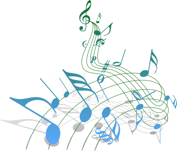 Musician clipart musical entertainment. Free music note staff