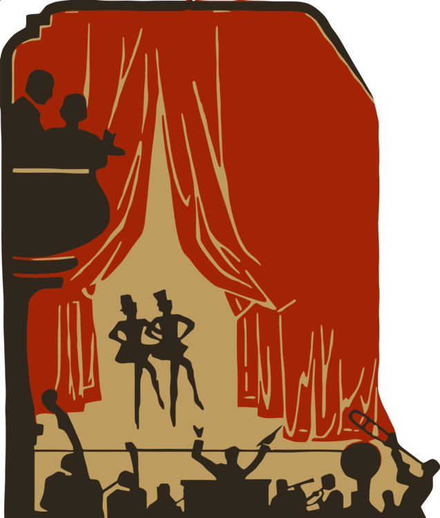 Theater clipart play theatre. Musical stage performing arts