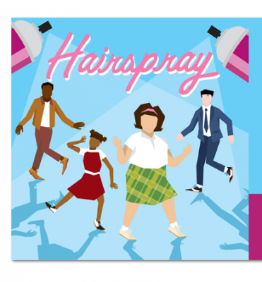 Musician clipart performing art. Hairspray major musical presented
