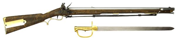 Musket vector 18th century. Sniper wikiwand baker rifle