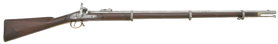 Musket vector used. Enfield rifled pattern