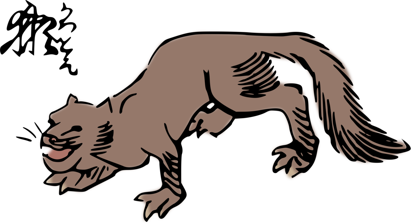 otter picture free. Muskrat drawing north american graphic transparent download