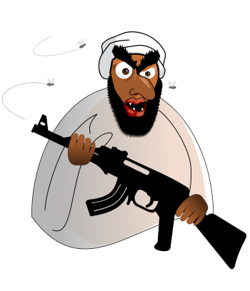 The and waves of. Muslim terrorist png vector transparent stock