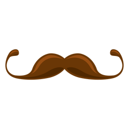 Mustache clipart brown. Transparent pngs to download