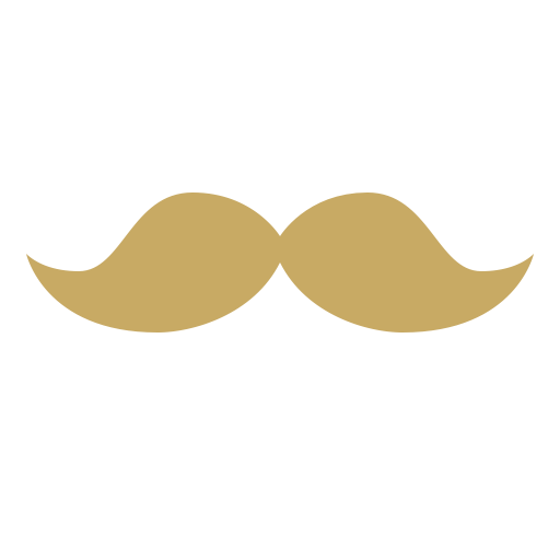 Mustache clipart brown. One hundred and twenty