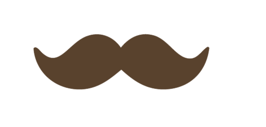 Mustache clipart brown. Images for cartoon fashion