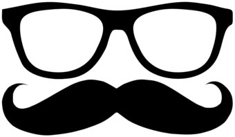 Mustache clipart eyewear. Sunglasses pencil and in