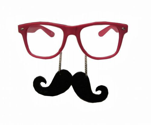 Mustache clipart nerd glass. Glasses with panda free