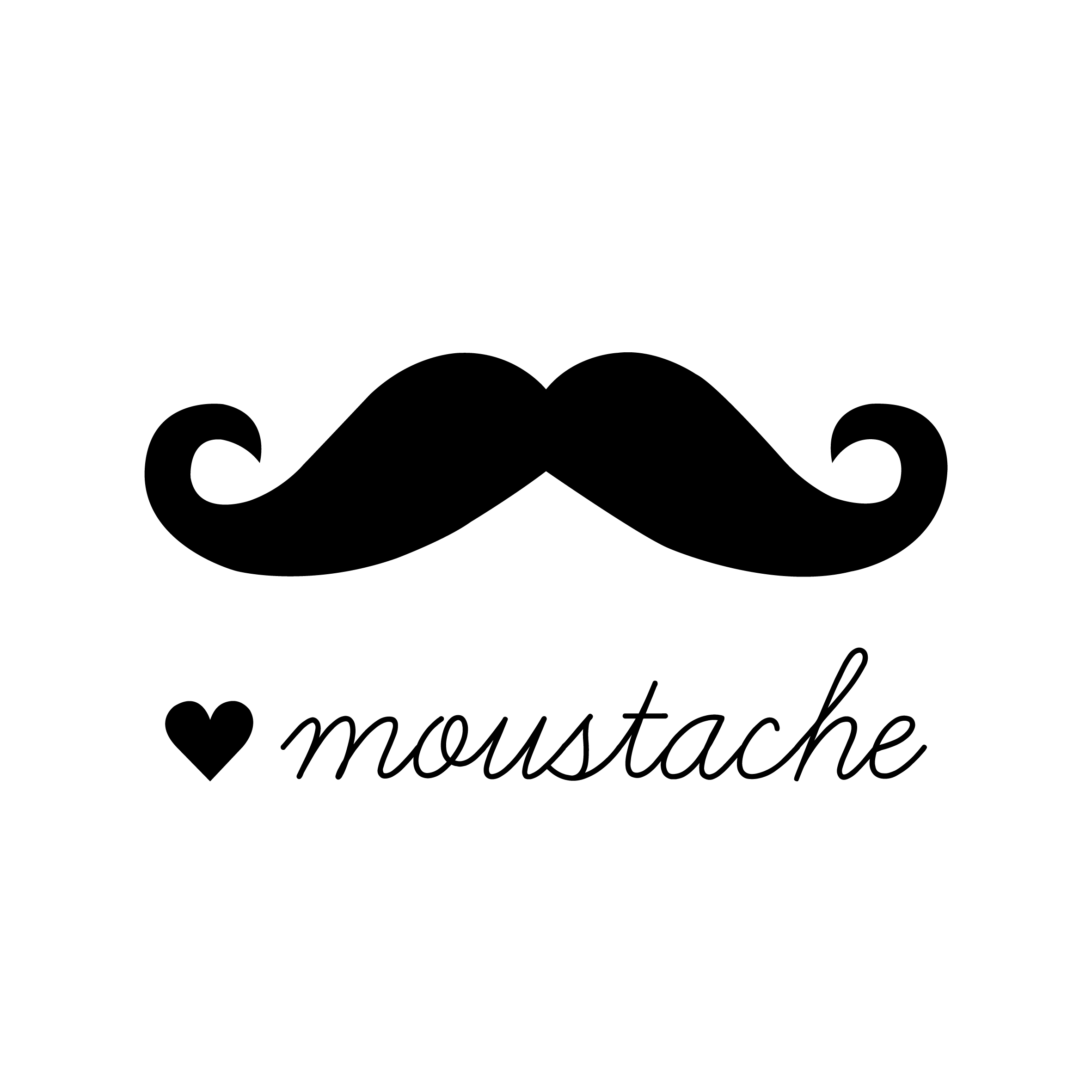 Mustache clipart twirly. Cartoon handlebar