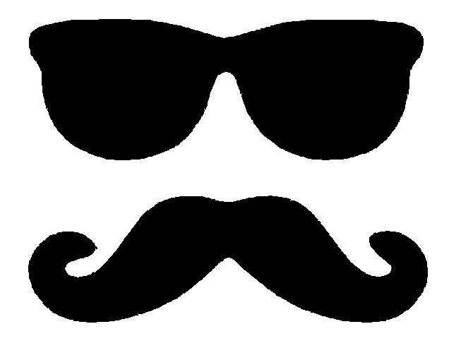 Mustache clipart. Graphics for handlebar clipartix