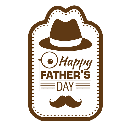 Mustache dad png. Fathers day happy vintage