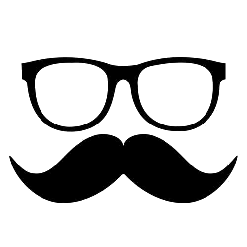 Mustache glasses png. Eyeglasses and moustache by