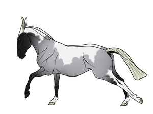 Mustang clipart angry horse. My is going blind
