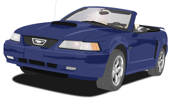 Mustang clipart ford mustang. Prissy design illustration by