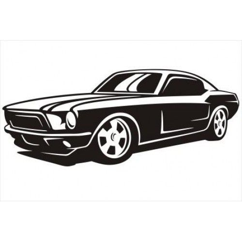 Mustang clipart jdm car. Imgs for ford silhouette