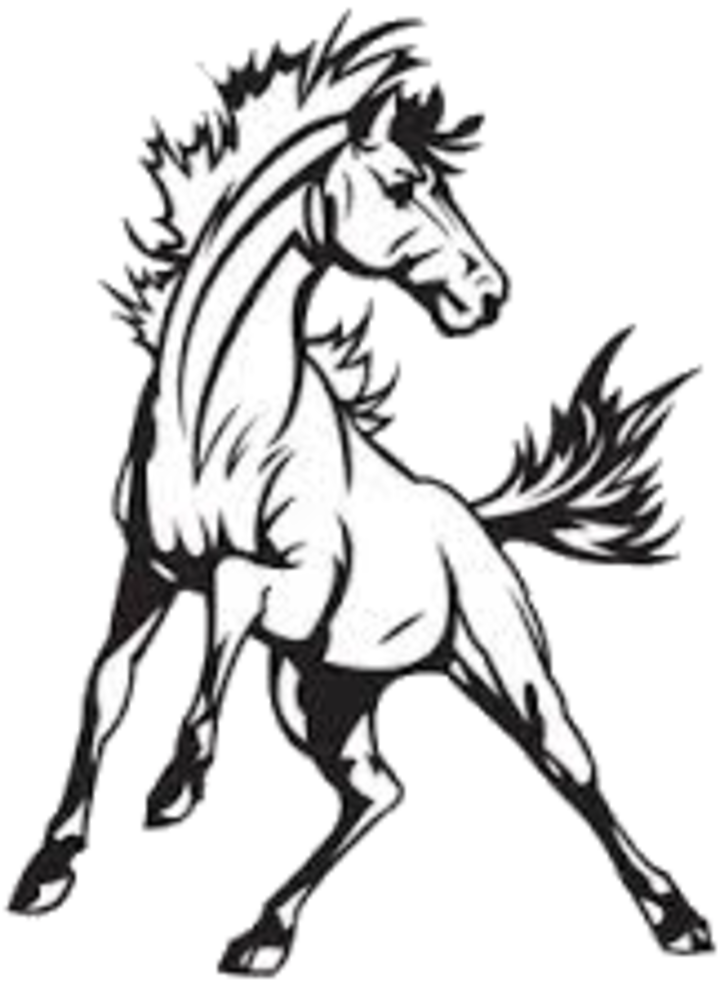 Mustang horse png. Logo drawing at getdrawings