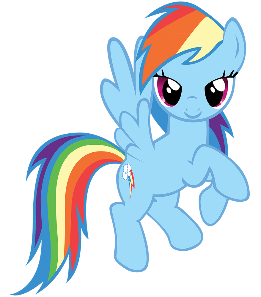 My little clipart. Free pony clip art