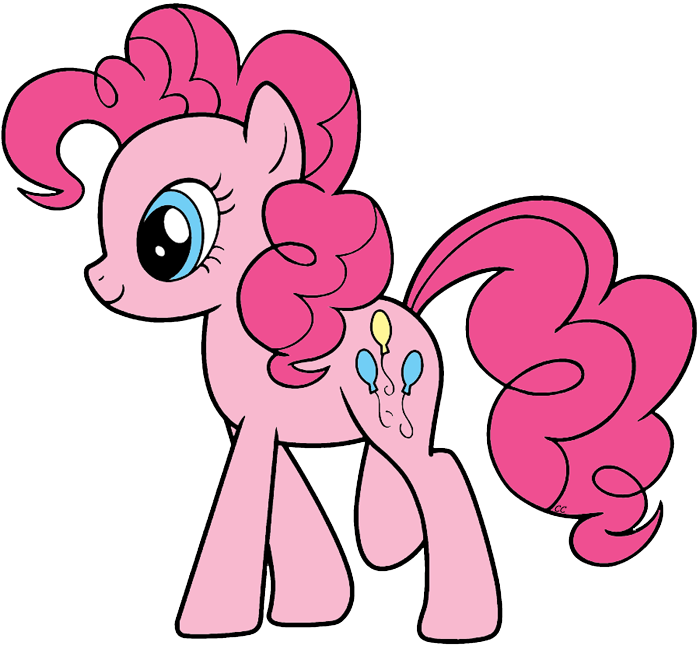 My little clipart pinkie pie. Pony friendship is magic